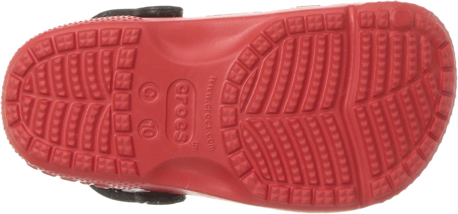 Crocs Girls' Fun Lab Minnie Clog, Flame, 8 M US Toddler by Crocs (Image #3)
