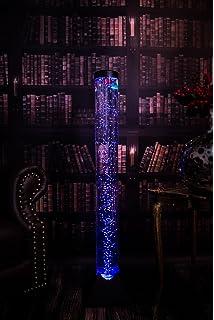 7even LED de diseño & Burbujas de Columna de Agua con Mando a Distancia 120 cm