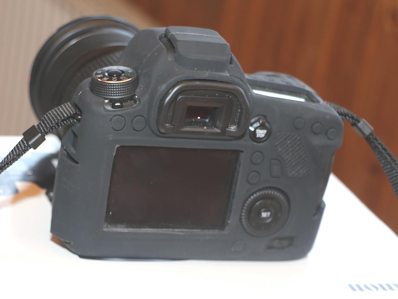 Canon EOS 6D + EF 24-105mm f/4L IS STM Cámara digital, color negro ...