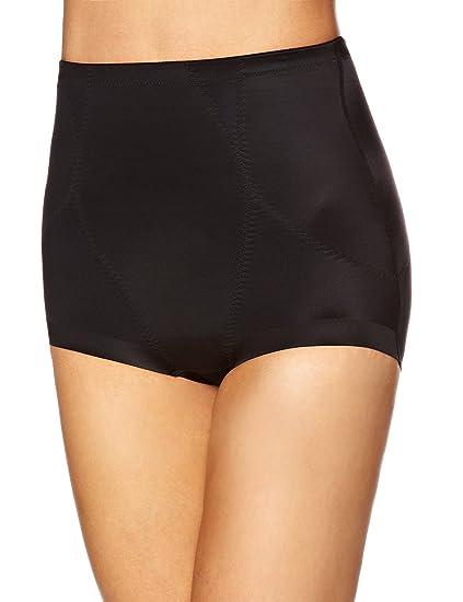 8160d903de Playtex Shapewear Waistliner Womens Briefs Black Size 16  Amazon.co ...