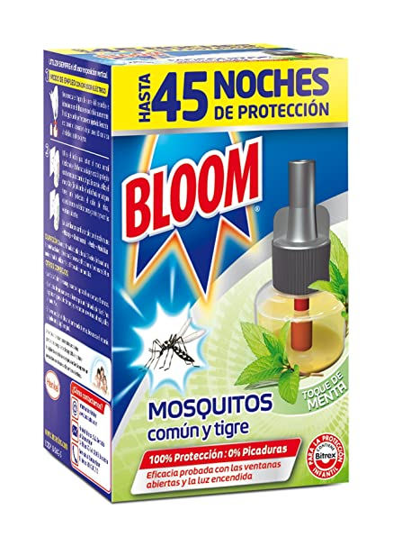 Bloom Toque de Menta Recambio Antimosquitos - 38 gr