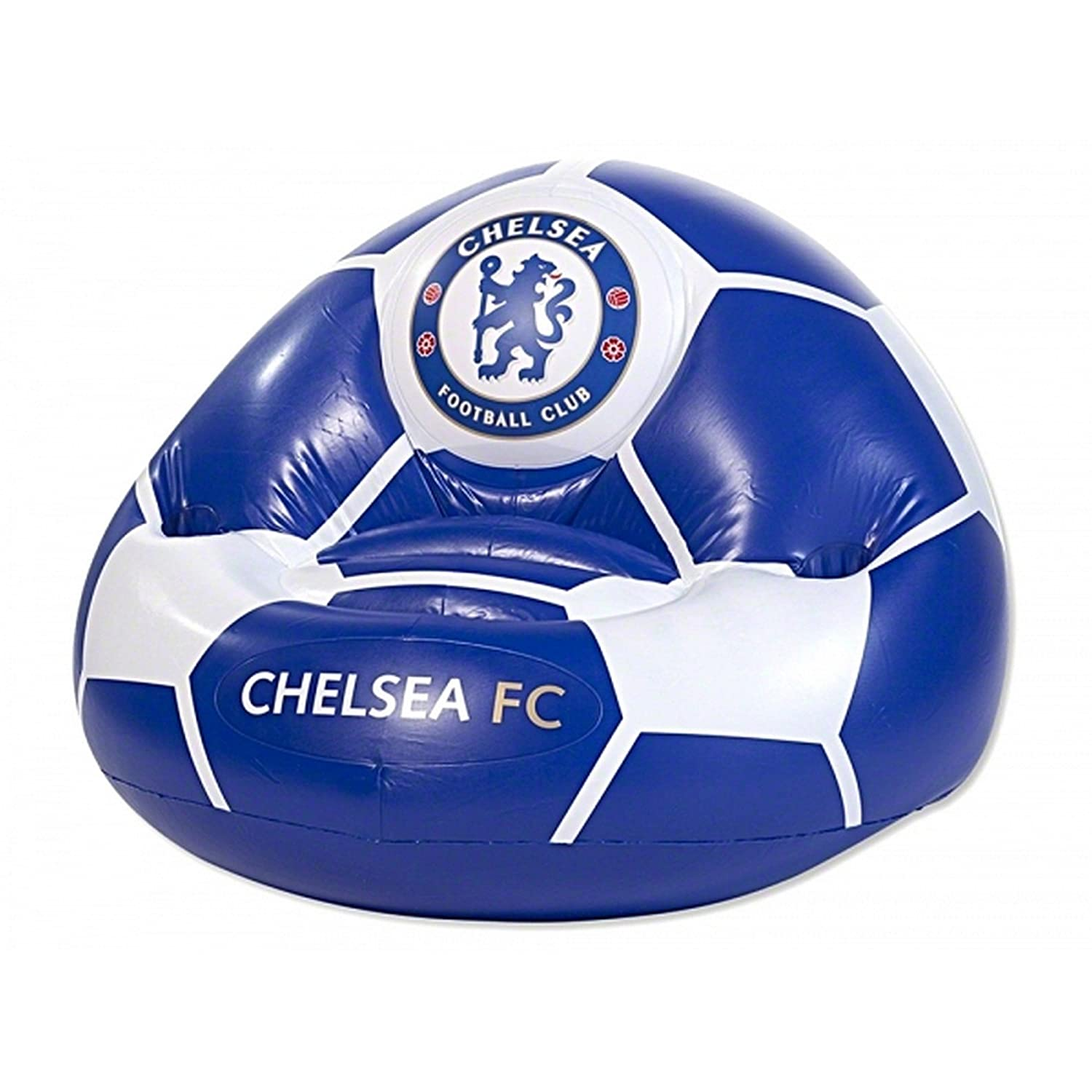 Chelsea FC Official Football Inflatable Chair (One Size) (Blue/White) UTBS196_1