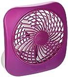 O2COOL 5 Inch Portable Fan, 1 Unit, Purple