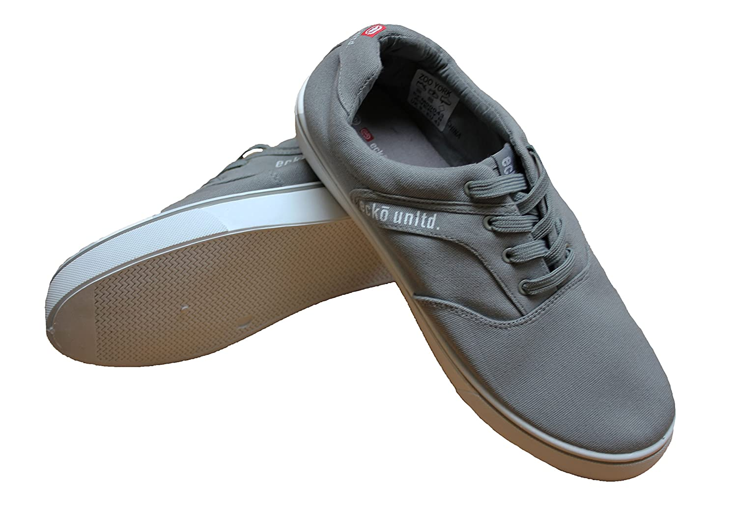 Ecko Unlimited Designer Mens Canvas Lace Up scarpe da ginnastica scarpe da ginnastica Pompe Daim AveryII