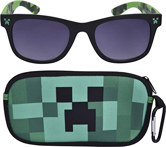 Arrival MineCrafted Sunglasses Kids cos play action Game Toys Minecrafter Squ...