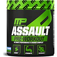 MusclePharm Assault Pre-Workout Powder, Pre-Workout Creatine for Energy, Focus, Strength, and Endurance with Creatine…