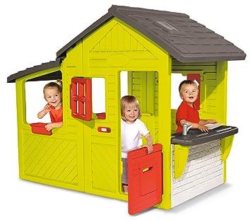 Smoby 310300 Neo Floralie Spielhaus: Amazon.de: Spielzeug