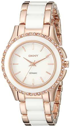 ddb0a25aaace5 Image Unavailable. Image not available for. Color  DKNY Women s NY8821  WESTSIDE Rose Gold Watch