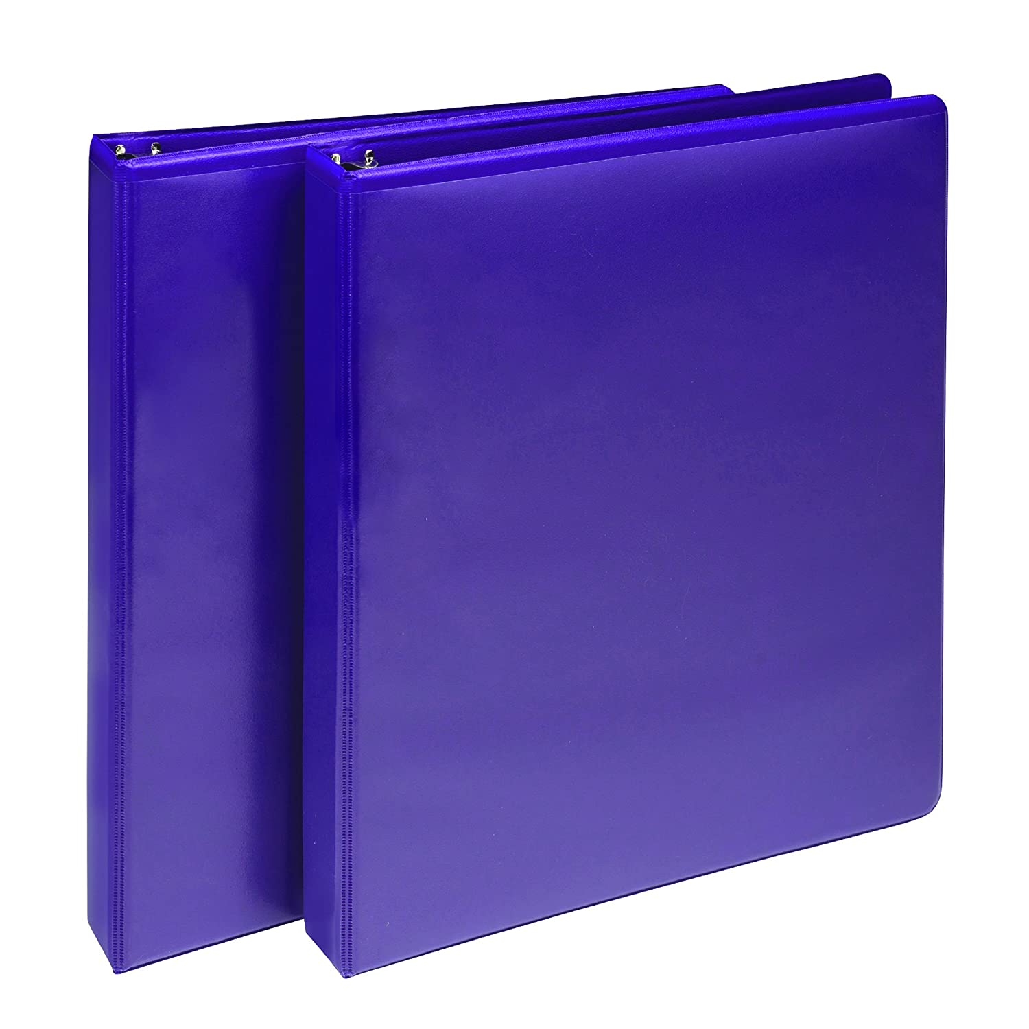 Samsill U86377 Antimicrobial Presentation View Binders, 1-Inch Capacity, Turquoise, 2-Pack