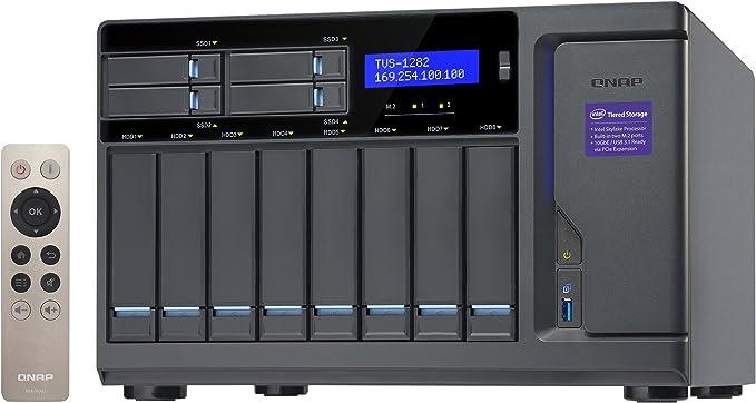 Qnap Tvs 1282 I7 32g Hochleistungsfähiges Nas System Computer Zubehör