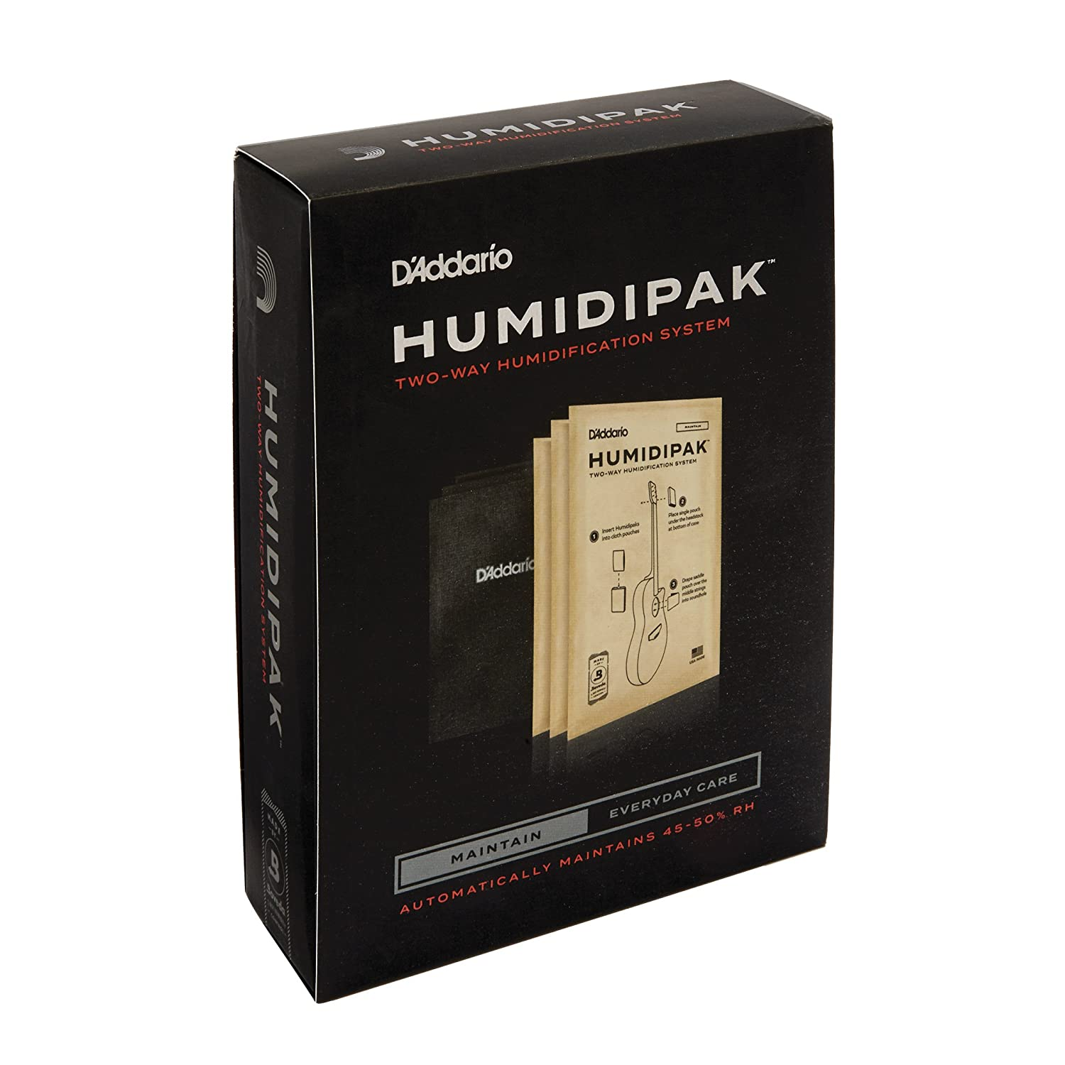 D'Addario Accessories Humidipak Two-Way Humidification System Review