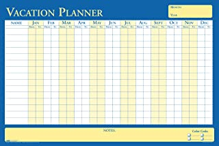 product image for House of Doolittle Plan-A-Board Vacation/All-Purpose Laminated Planner Reversible 36 x 24 Inch (HOD639)