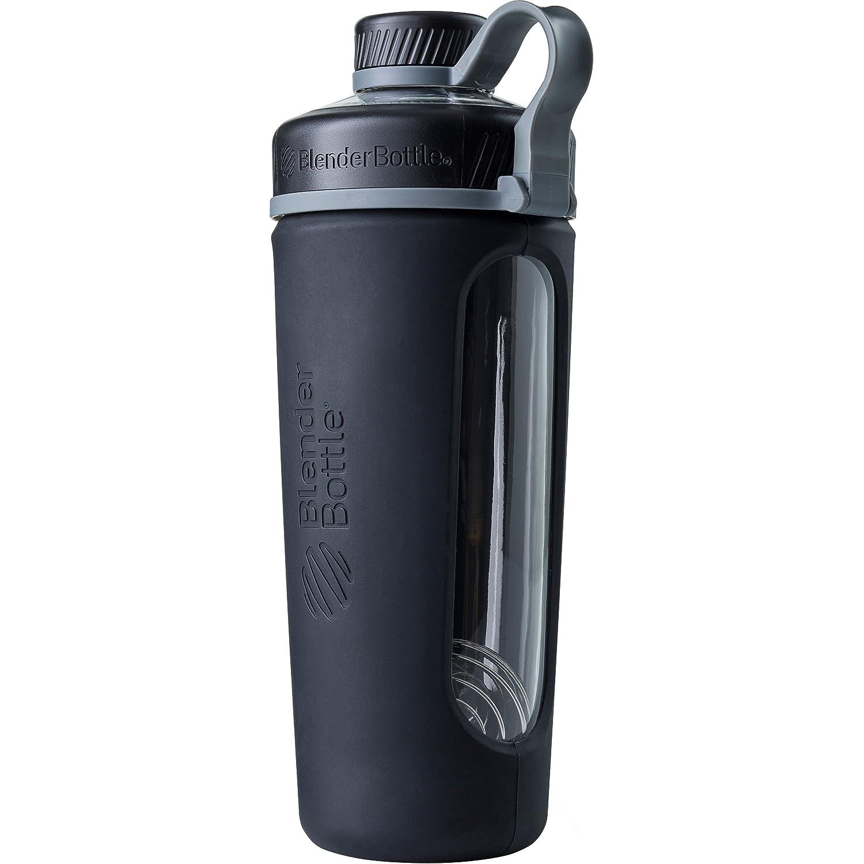 Radian Shaker per frullati di Proteine, Bottiglia per Acqua, Borraccia in vetro, con BlenderBall - Violetto BlenderBottle C02110