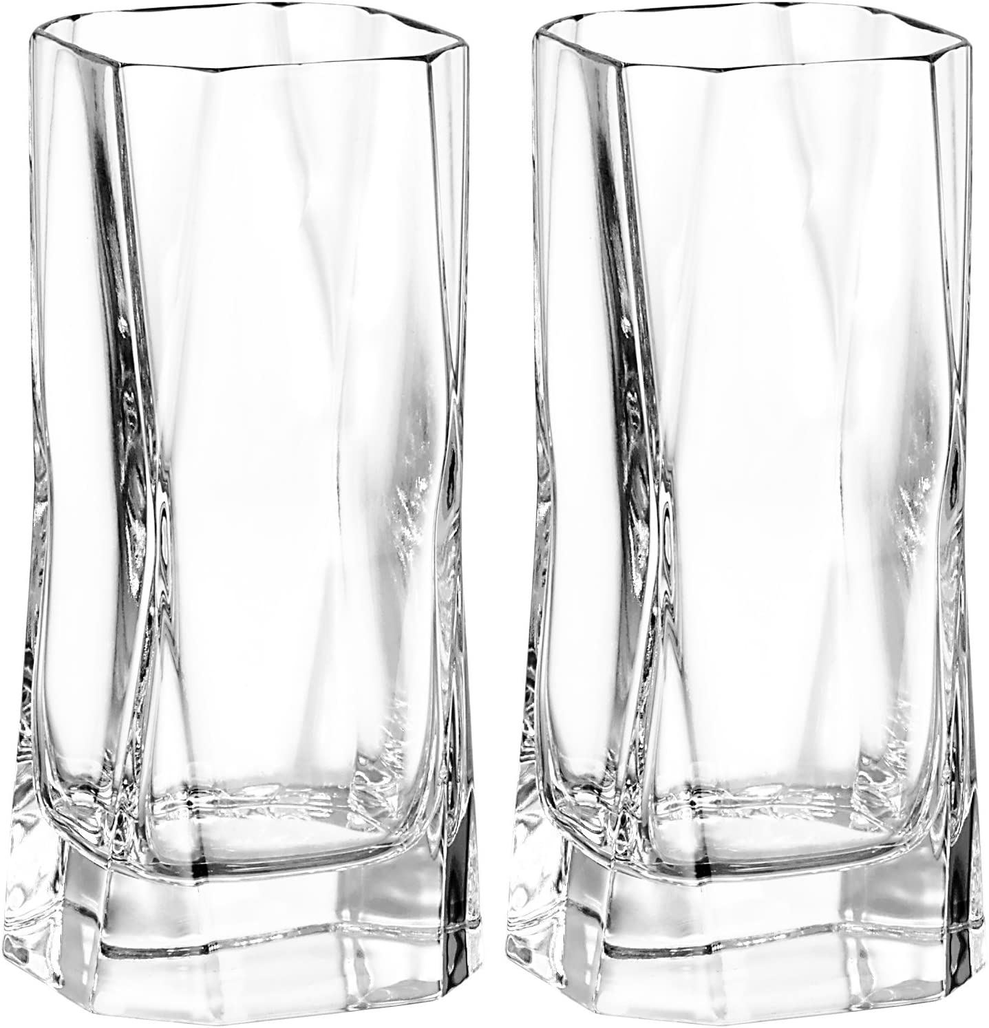 Cibi Double Blade Runner Glass In Gift Box 37cl