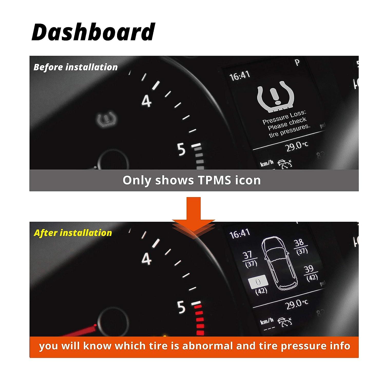 volkswagen tire pressure loss