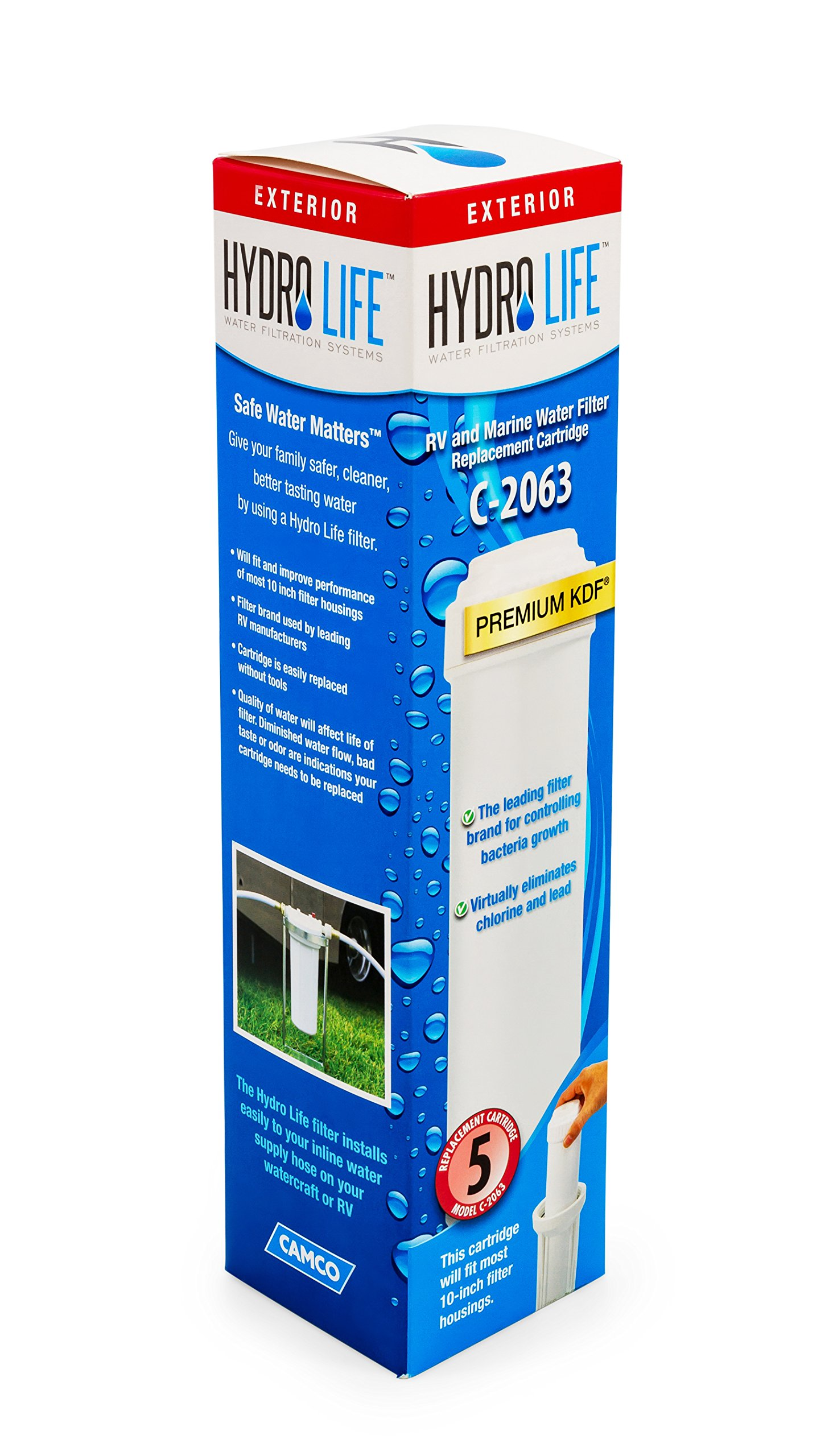Fits Hydro Life 54212 C-2063 Replacement Cartridge