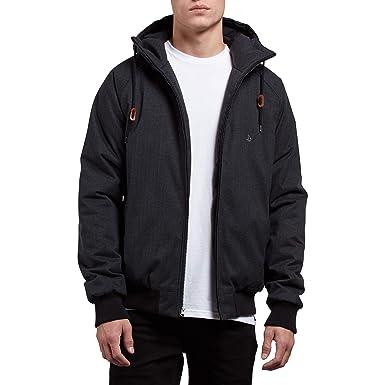 284fac974a4a Amazon.com  Volcom Men s Hernan Coaster Heavy Weight Hooded Jacket ...