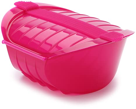 Amazon.com: Lekue Ogya Pequeño Sauce Pan, color rosa ...
