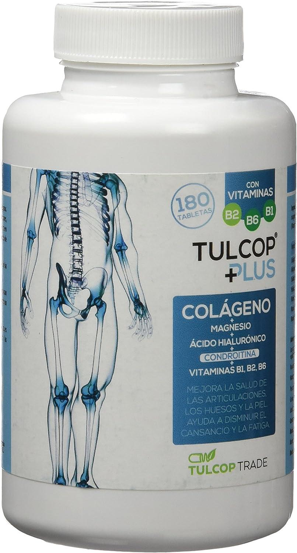 Tulcop Plus Polvo Colágeno con Magnesio, Ácido Hialurónico y ...