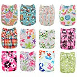 Babygoal Baby Cloth Diapers,One Size Adjustable
