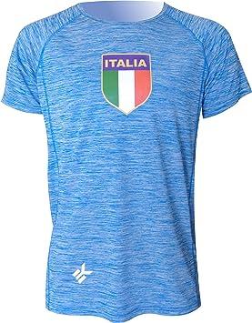 EKEKO SPORT Camiseta Italia Modelo TEIDE, Camiseta Manga Corta, Running, Fitness, Crossfit y Deportes en General.: Amazon.es: Deportes y aire libre