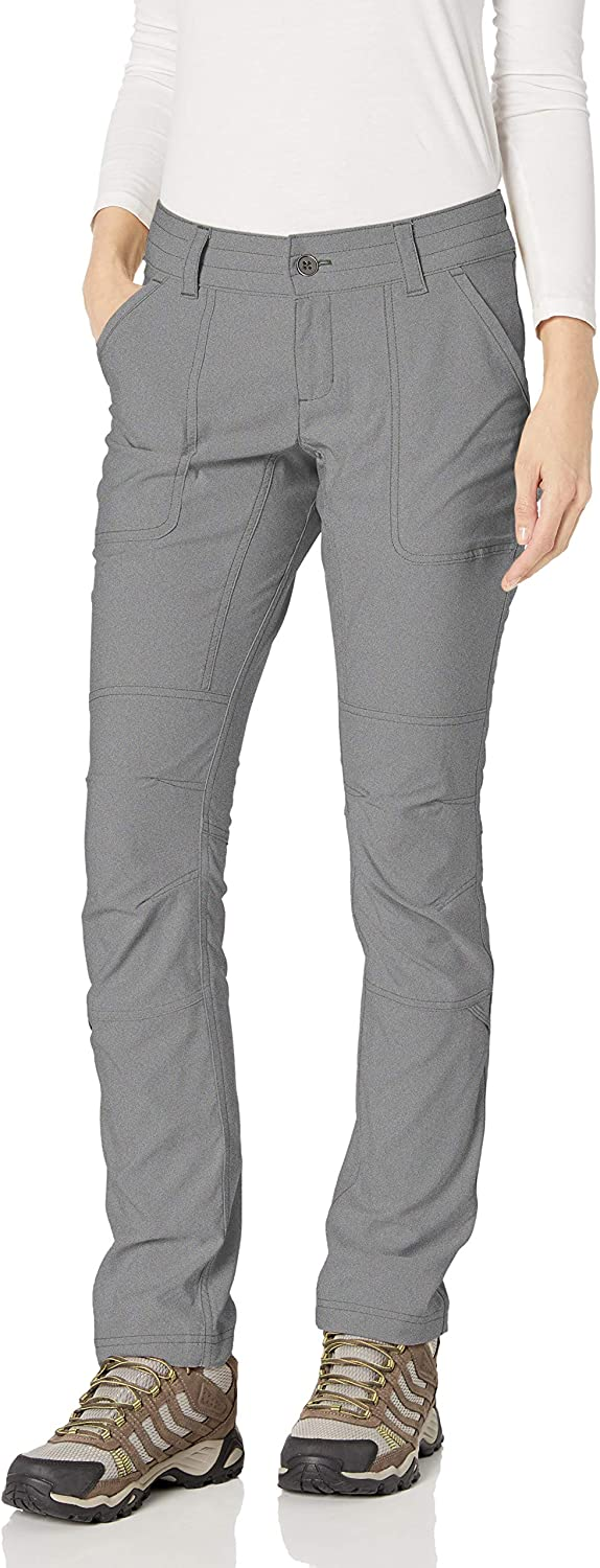 Columbia Womens Pilsner Peak Pants Gravel Oxford 14//Short