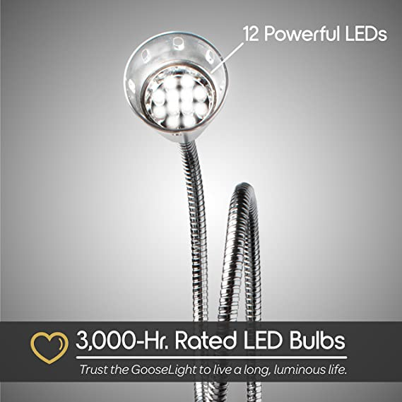 Amazon.com : Livin Well Luz magnética ajustable de trabajo LED - Luz portátil de Barbacoa de GooseLight y luz de tarea multiuso con lámpara de trabajo ...