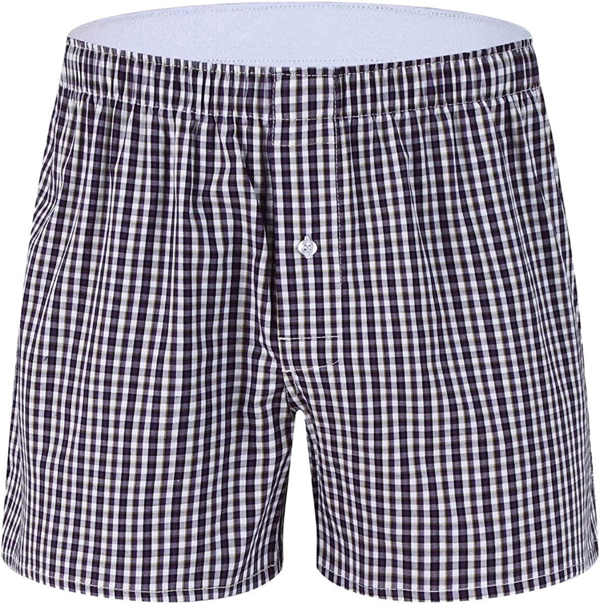 M MOACC Mens Woven Boxers Underwear 100/% Cotton Premium Quality Shorts