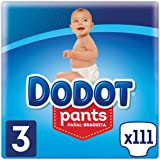 Dodot Pants - Pañal-Braguita Talla 3 (6-11 kg), 3 x 37 Pañales, Total 111 Pañales
