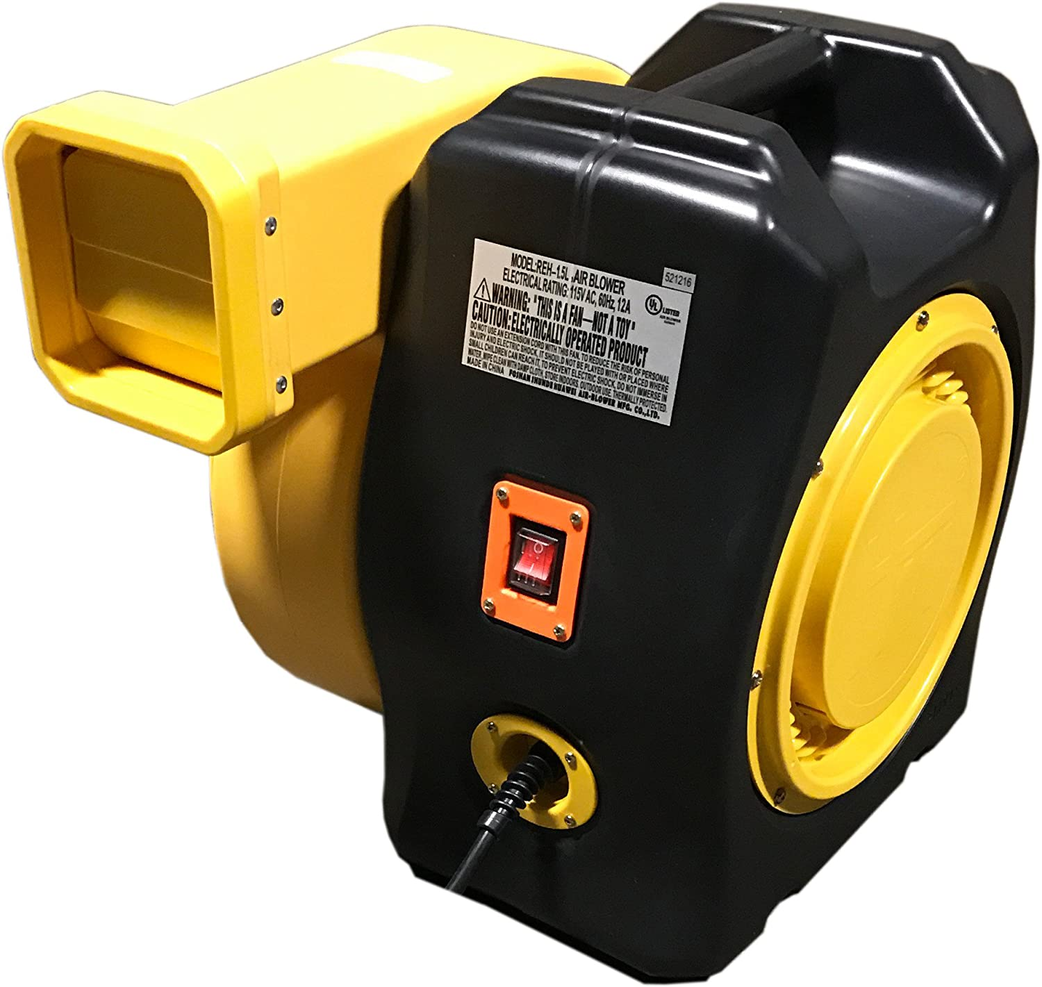Bounce House Blower - 1.5 HP Blower for Inflatables