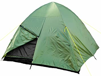 Highlander Dome 4 Quick Pitch Tent - Olive  sc 1 st  Amazon UK & Highlander Dome 4 Quick Pitch Tent - Olive: Amazon.co.uk: Sports ...