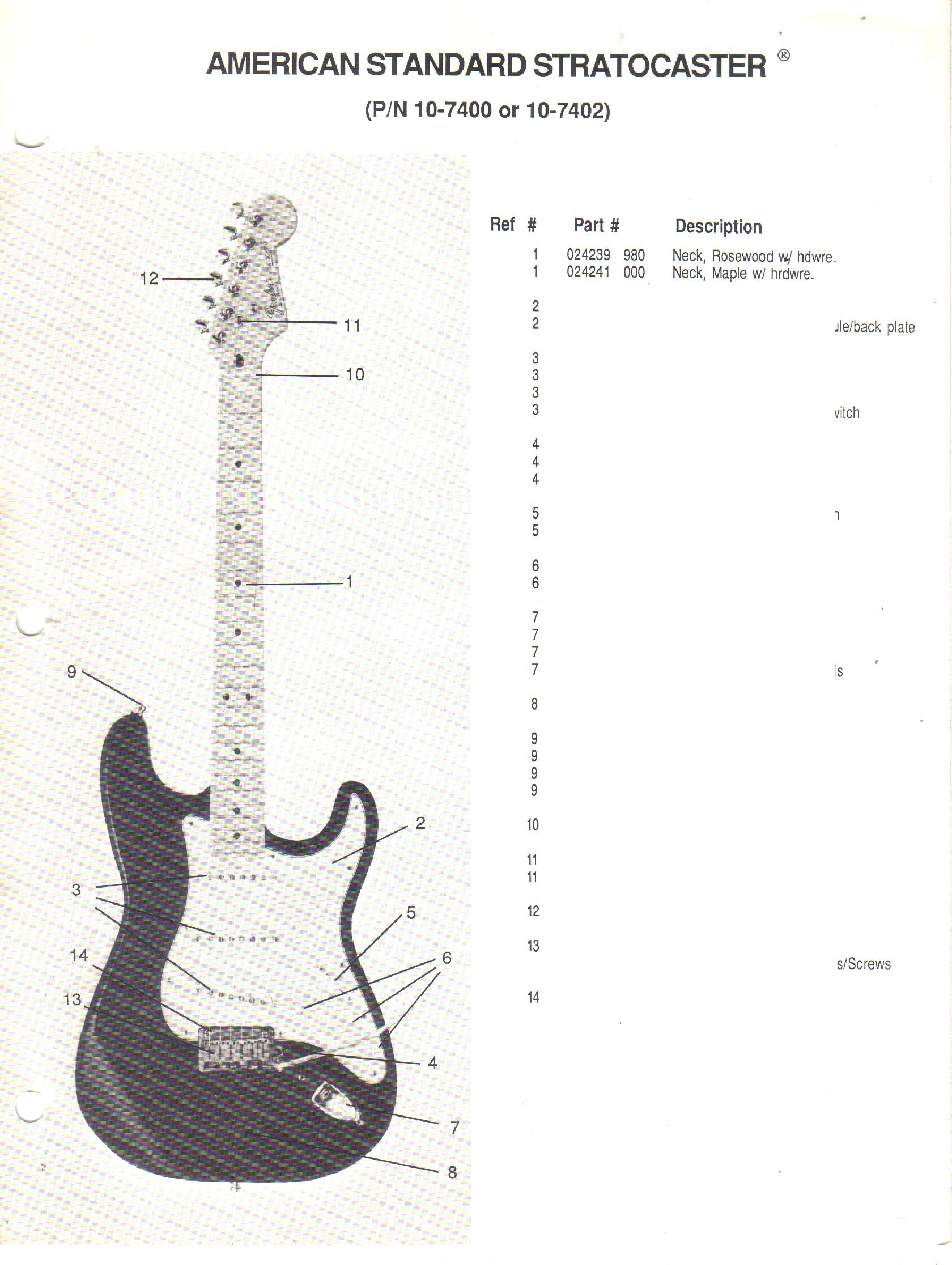 fender american standard stratocaster parts list wiring diagram fender american standard stratocaster parts list wiring diagram fender electronics sunn amazon com books