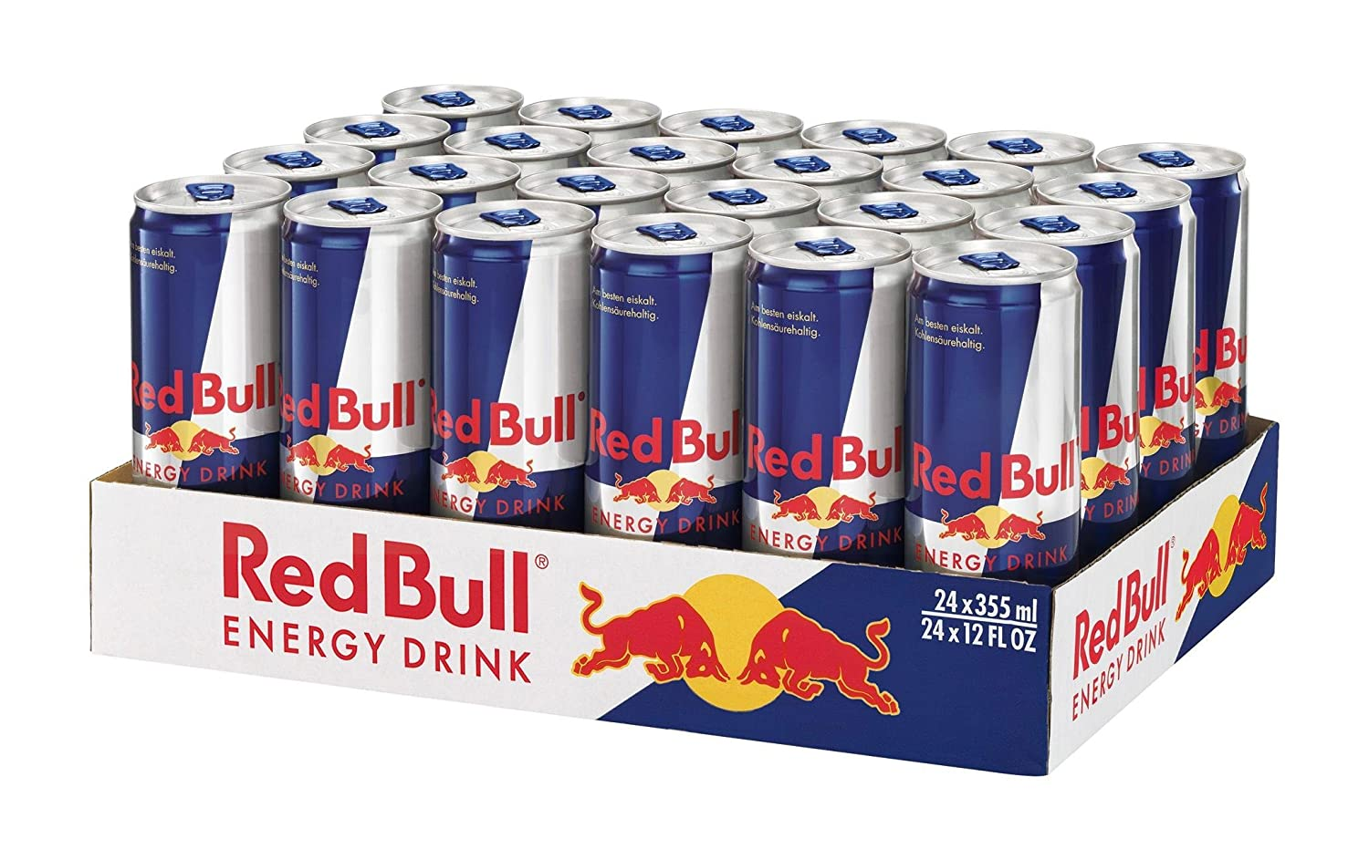 Red Bull Energy Drink 24 x 355 ml Dosen Getränke 24er Palette ...