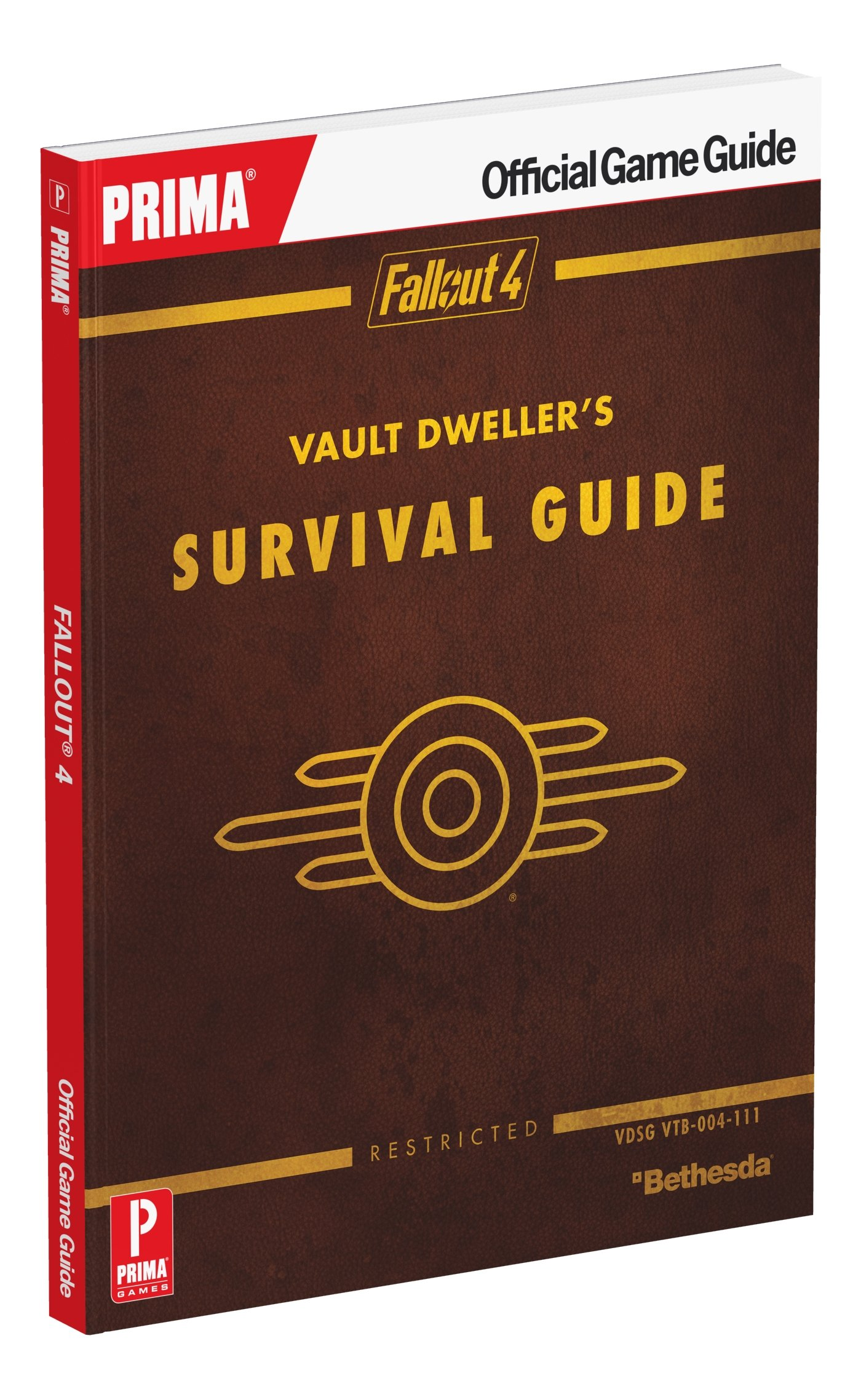 Fallout 4 Vault Dweller's Survival Guide: Prima Official Game Guide: David  Hodgson, Nick Von Esmarch: 9780744016307: Amazon: Books