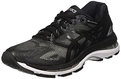 quality design 8f54e 4c7d6 ASICS Gel-Nimbus 19 Womens Running Trainers T750N Sneakers Shoes (UK 6 US 8  EU 39.5, Black Onyx Silver 9099)