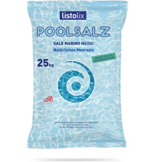 Sal del mar Jónico natural para piscinas en saco de 25 kg: Amazon ...