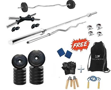 aa3e1879e6d Buy Protoner 50kg Home Gym Set with Rods
