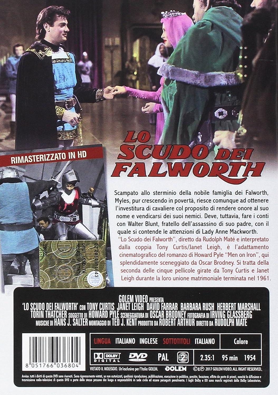 lo scudo dei falworth rimasterizzato hd DVD Italian Import
