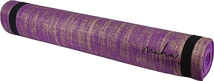 Amazon.com : Maha Jute Yoga Mat - Purple : Sports & Outdoors
