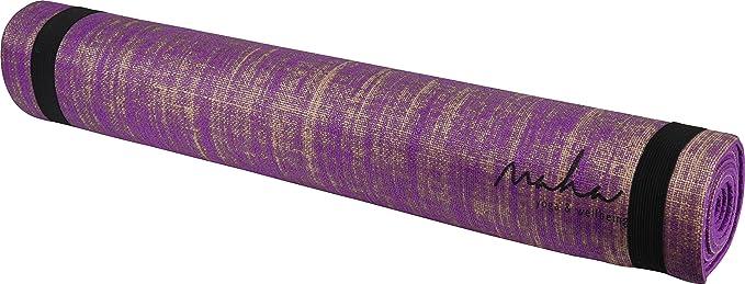 Maha Jute Yoga Mat - Purple