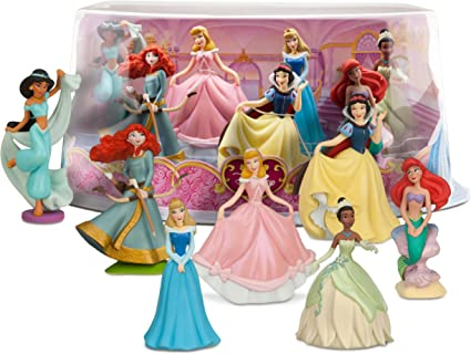Amazon Com Disney Princess Mini Figure Play Set 1 Toys Games