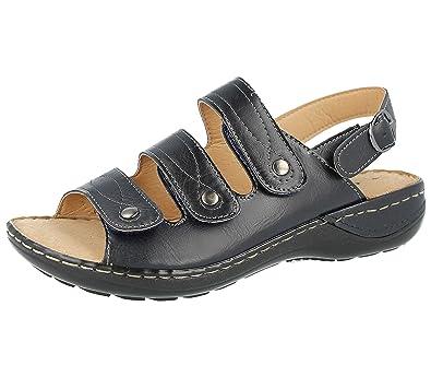 07a266710a8 Cushion Walk Ladies Faux Suede Laser Cut Tbar Diamante Open Toe Touch Close  Slingback Summer Sandals