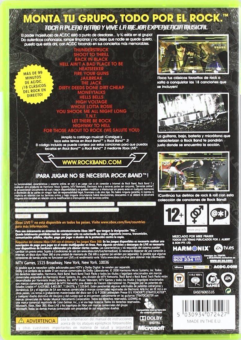 Rock Band: Pack AC/DC: Amazon.es: Videojuegos
