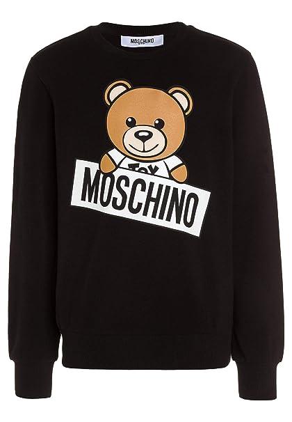 47a57506be Moschino Felpa Bambino/A con Logo, 5, Nero: Amazon.it: Abbigliamento