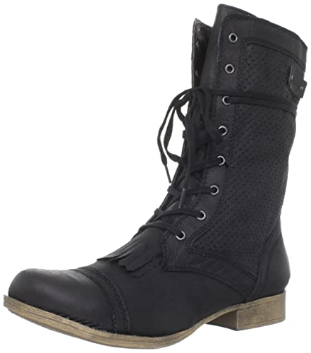a8764a5ab6 Roxy Women's Dover Boot, Black, 6 B US: Buy Online at Low Prices in ...