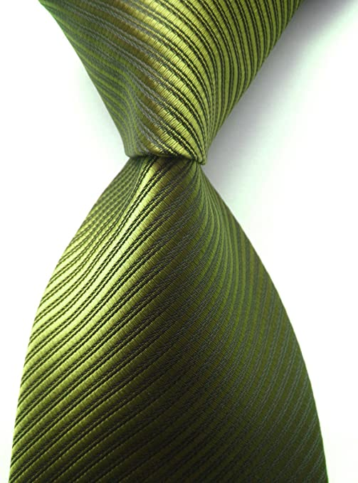Details about  /Elfeves Men/'s Solid Color Ties Fine Stripe Smooth Graduation Formal Suit Necktie