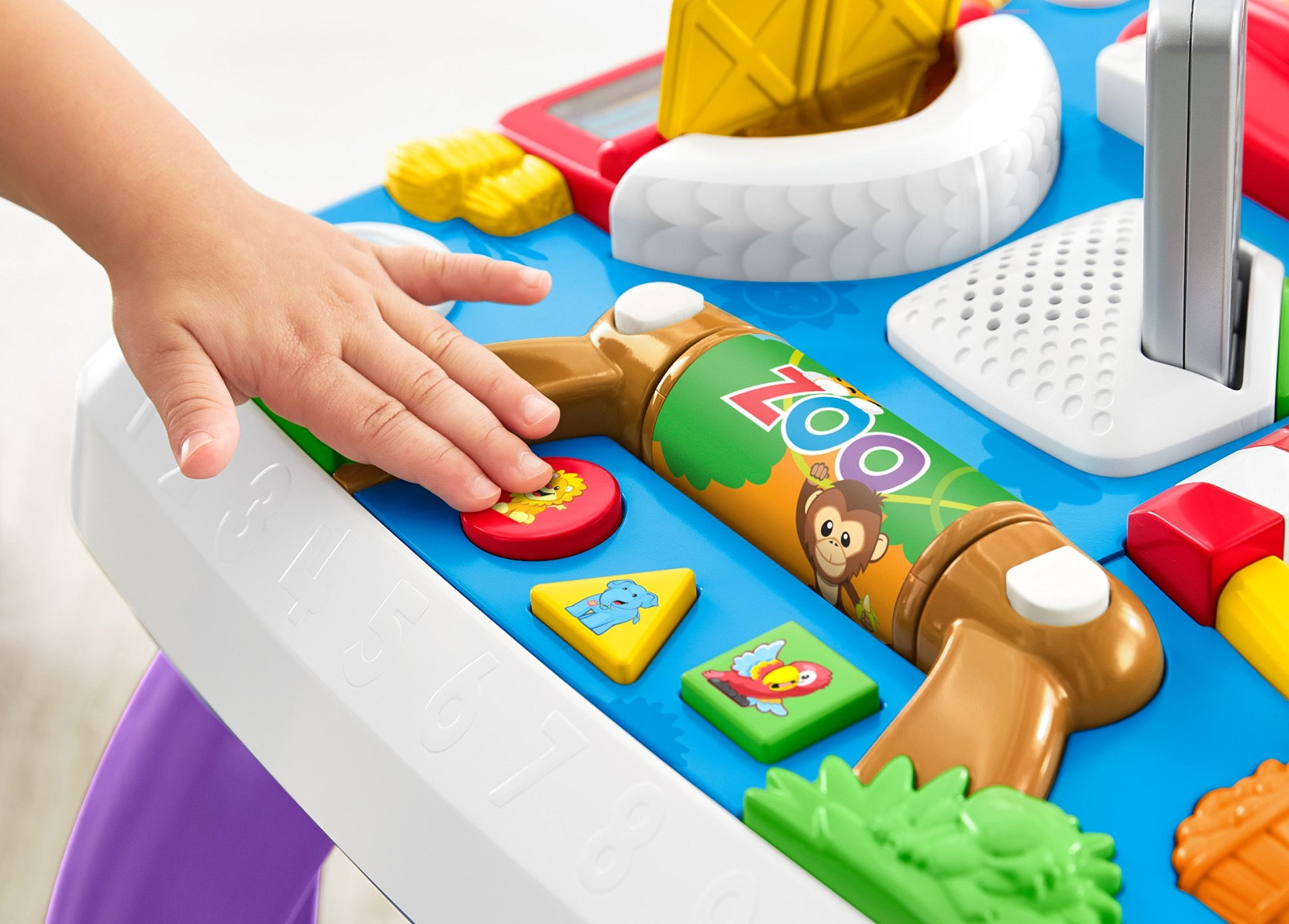 Fisher-Price Laugh & Learn Around The Town Learning Table by Fisher-Price (Image #21)
