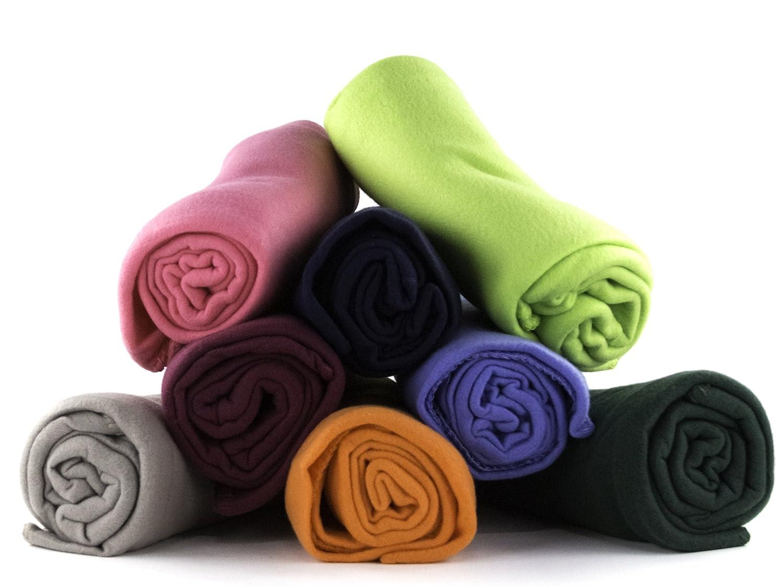 amazoncom 50 x 60 ultra soft fleece throw blanket assorted colors home u0026 kitchen