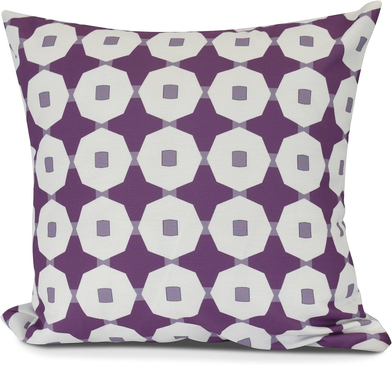 E by design Decorative Pillow Purple