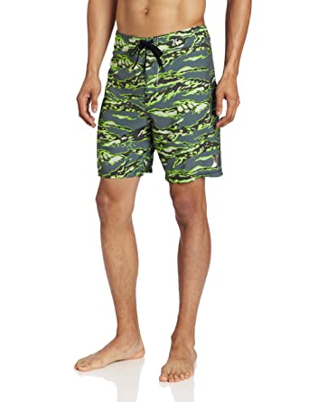 478a6b779b Amazon.com: Hurley Men's Flammo Tiger For Way, Evergreen, 28: Clothing